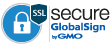 SSL secure GlobalSign by GMO